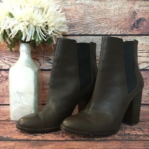 Banana Republic Brown Ankle Boots SZ 9.5